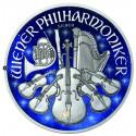1 Unze Silber Wiener Philharmoniker Glowing Galaxy 2019
