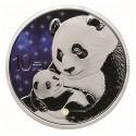 30g Silber China Panda Glowing Galaxy 2019