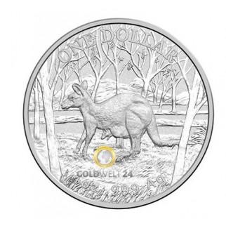 1 Unze Silber Känguru RAM 2016