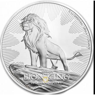 1 Unze Silber König der Löwen 2019