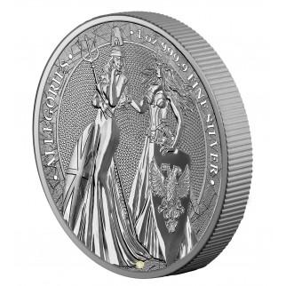 1 Unze Silber 5 Mark The Allegories Britannia & Germania 2019