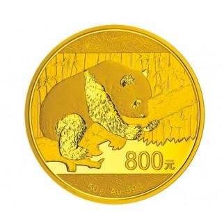 50g Gold China Panda 2016 PP (inkl. Box und Zertifikat)