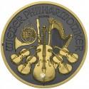 1 Unze Silber Wiener Philharmoniker Golden Ring 2019