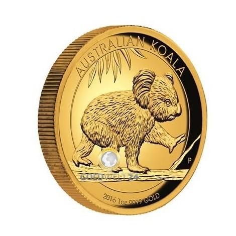 1 Unze Gold Koala High Relief div.