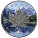 1 Unze Silber Maple Leaf Four Seasons Spring Antik Finish