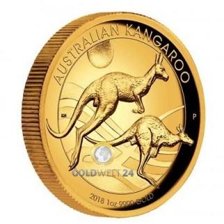 1 Unze Gold Känguru Nugget 2016