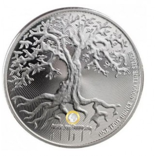 1 Unze Silber Tree of Life 2019
