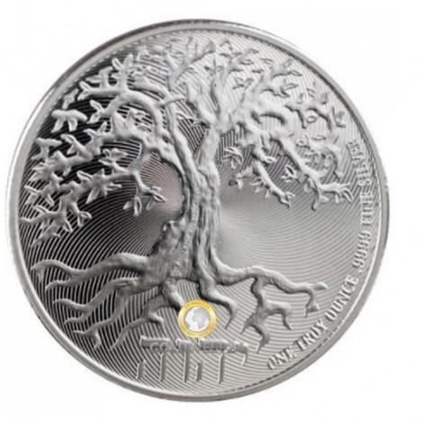 1 Unze Silber Tree of Life 2019
