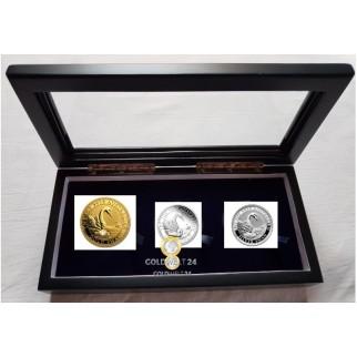 Schwan 3-Coin-Set Australia Swan 2019