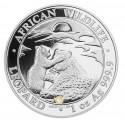 1 Unze Silber Somalia Leopard 2019
