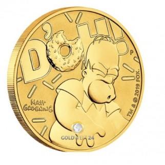 1 Unze Gold HOMER SIMPSON 2020