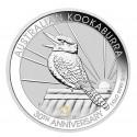 1kg Silber Kookaburra 30 Jahre 2020