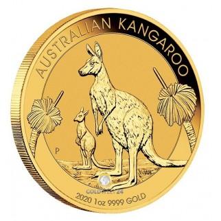 1 Unze Gold Känguru Nugget 2020