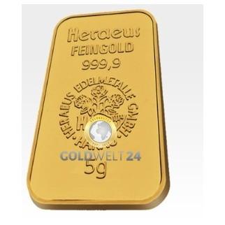 5 g Goldbarren-Resale