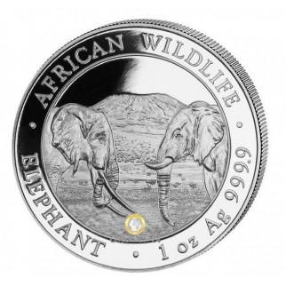 500*1 Unze Silber Somalia Elefant 2020 (versiegelte Masterbox)