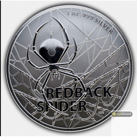 1 Unze Silber Redback Spider