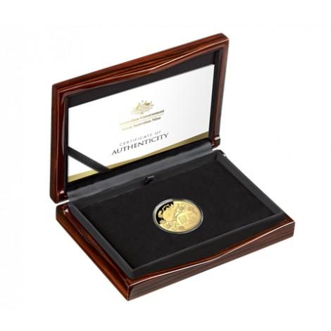 1 Unze Gold Lunar III Ratte 2020 PP