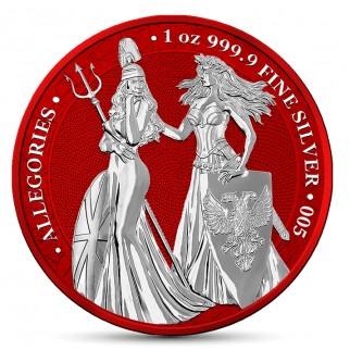 1 Unze Silber 5 Mark The Allegories Britannia & Germania 2019