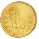 1 Unze Gold König der Löwen 2019