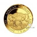 5 Unzen Gold Somalia Elefant 2020 PP