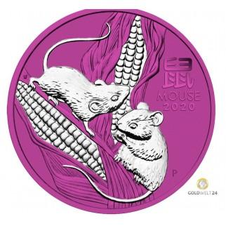 1kg Silber Lunar II Affe 2016