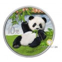 30g Silber China Panda 2020 col.