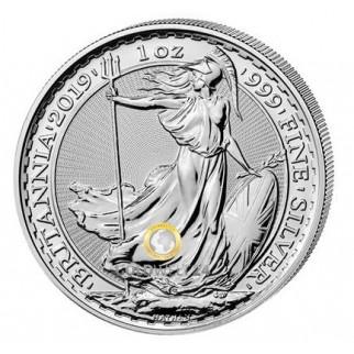 1 Unze Silber Britannia 2020