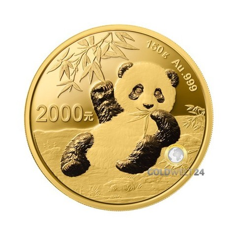 150g Gold China Panda 2020 PP (inkl. Box und Zertifikat)