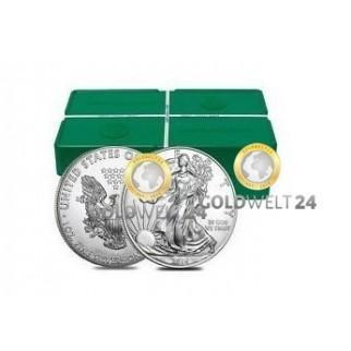 500*1 Unze Silber American Eagle 2019