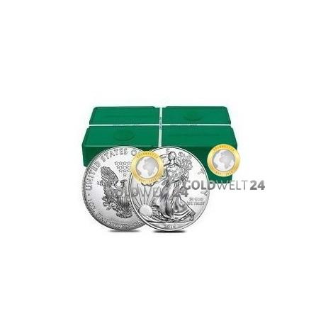 500*1 Unze Silber American Eagle 2020