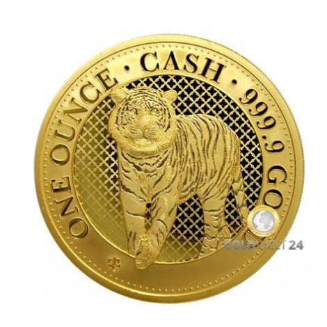 1 Unze Gold Bengal Tiger 2019