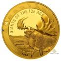1 Unze Gold Giganten der Eiszeit - Riesenhirsch 2019