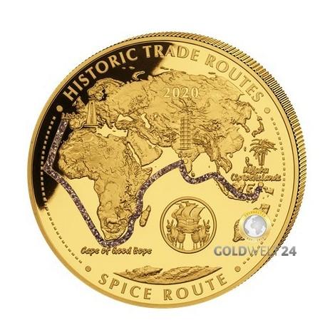 5 Unzen Gold Gewürzroute 2020 PP