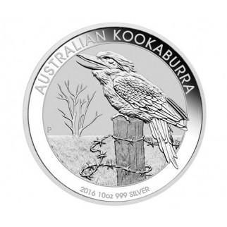 10 Unzen Silber Australien Kookaburra 2016