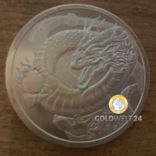1 Unze Silber Chinesischer Drache