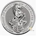 2 Unzen Silber Queens Beasts White Horse of Hanover