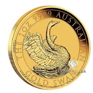 1 Unze Gold Australien Schwan 2020