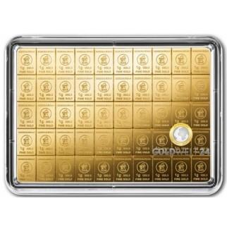 50 g Gold Tafelbarren Combibarren (Goldplättchen) H&M