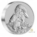 2 Unzen Silber Kookaburra 2020