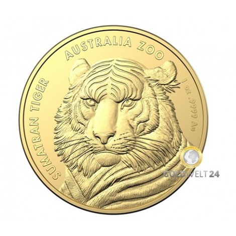 1 Unze Gold Sumatra Tiger 2020