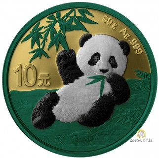 30g Silber China Panda Space Metal 2020
