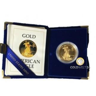1 Unze Gold American Eagle div.