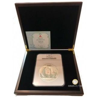 1 kg Silber China Panda 2011 NGC (Polierte Platte)
