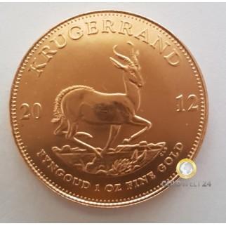 1 Unze Gold Krügerrand 2012
