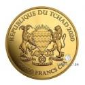 1 Unze Gold Mandala HippoTschad 2020