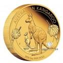 5 Unzen Gold Känguru 2020 Proof