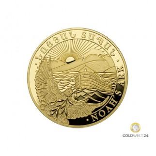1/4 Unze Gold Arche Noah PP