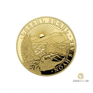 1 Unze Gold Arche Noah 2020
