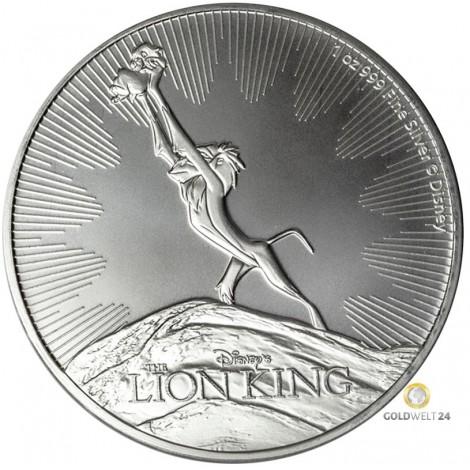 1 Unze Silber Lion King 2020