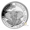 1 Unze Silber Somalia Elefant 2021
